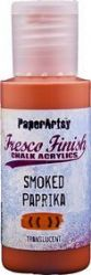 PaperArtsy Fresco Finish Chalk Acrylic Paint 50ml - Smoked Paprika {was in FFSA2}